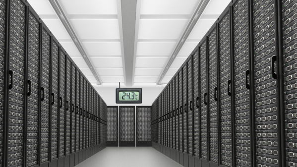 Data Center with Temperature Monitoring Blog