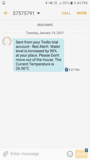twillio sms alert2